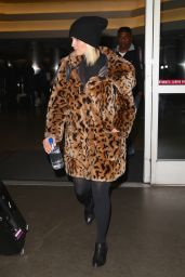 Dianna Agron Style - Out at LAX Airport, February 2015