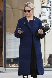 Dianna Agron Style - Out in Beverly Hills, February 2015