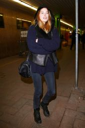 Doutzen Kroes - Arriving for Milan Fashion Week, February 2015