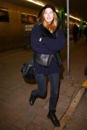 Doutzen Kroes - Arriving for Milan Fashion Week, February 2015