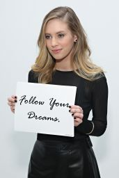 Dylan Penn - Jill Stuart Fashion Show in New York City, February 2015