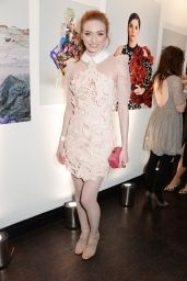 Eleanor Tomlinson - EE and InStyle Pre-BAFTA 2015 Party in Los Angeles
