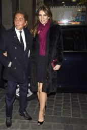 Elizabeth Hurley - Giancarlo Giammetti Birthday Party in Madrid, February 2015