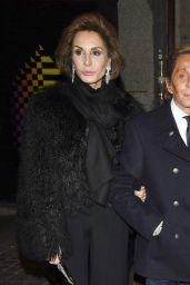 Elizabeth Hurley - Giancarlo Giammetti Birthday Party in Madrid, February 2015