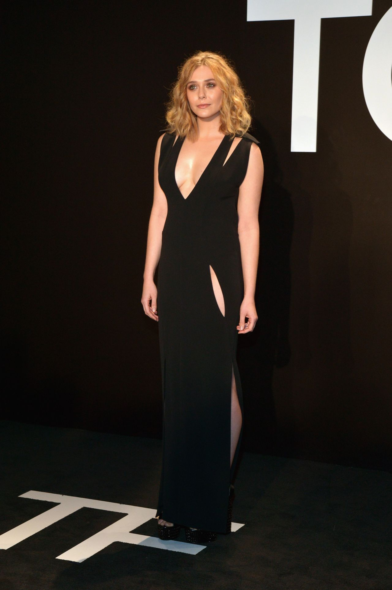 Elizabeth Olsen – Tom Ford Autumn/Winter 2015 Womenswear Collection Presentation in Los Angeles