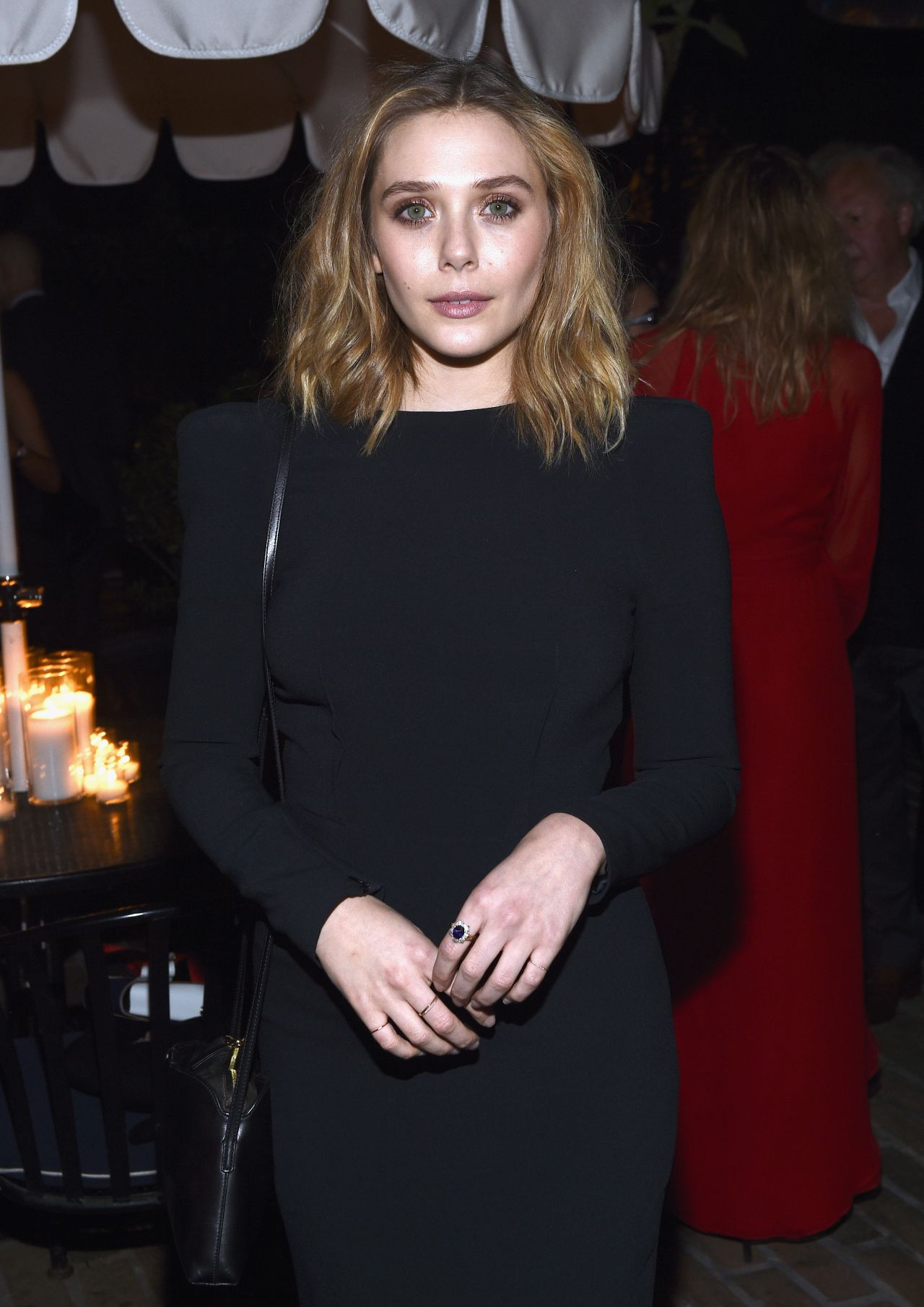 Elizabeth Olsen - Vanity Fair and Barneys New York Dinner Benefit in LA, Feb. 2015
