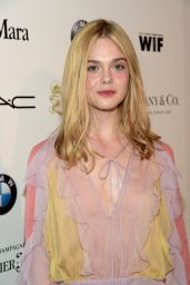Elle Fanning - 2015 Women In Film Pre-Oscar Cocktail Party in Los Angeles
