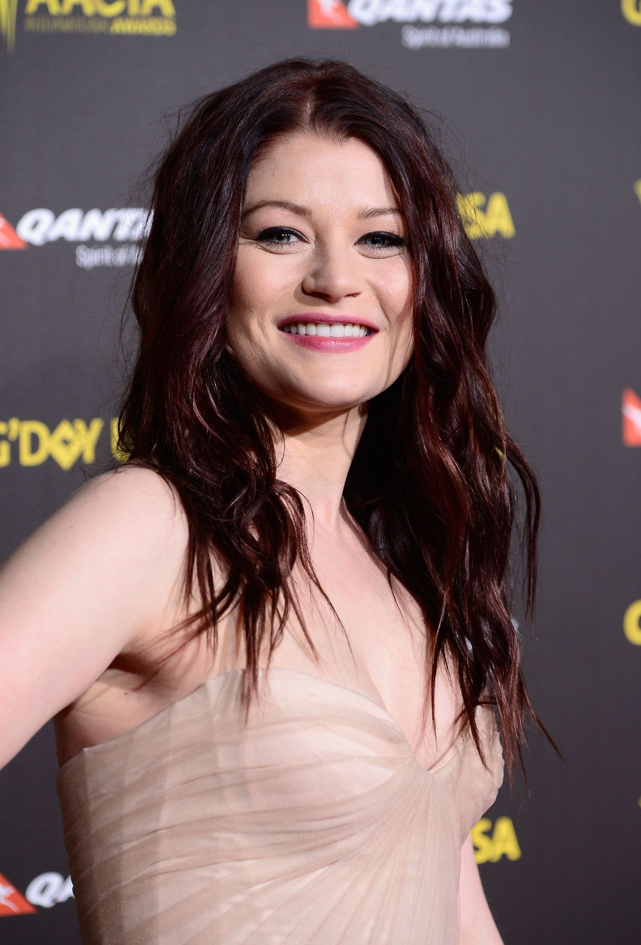 Emilie de Ravin – G'Day USA Gala AACTA International Awards 2015 in Los Angeles