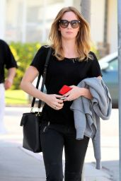 Emily Blunt - Out in West Hollywood, February 2015