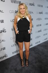 Emily Osment – Vanity Fair and L'Oreal Paris D.J. Night Benefit in Los Angeles, Feb. 2015