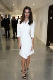 Emily Ratajkowski - Antonio Berardi Fashion Show in London, February 2015