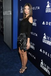 Emily Ratajkowski - Delta Air Lines GRAMMY 2015 Kick-Off Party in West Hollywood