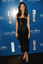 Emily Ratajkowski - Grammys Ultimate VIP presented by Grey Goose in New York, Feb. 2015