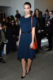 Emily Ratajkowski - Jason Wu Fashion Show in NYC, February 2015