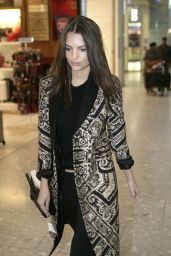 Emily Ratajkowski Style - at London