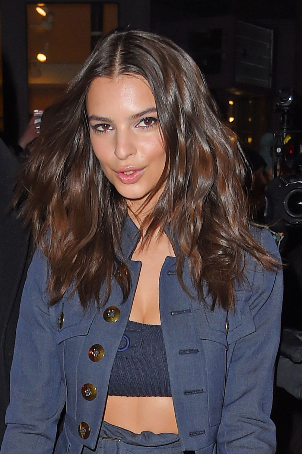Emily Ratajkowski Style - Out in New York City, February 2015