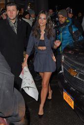Emily Ratajkowski Style - Out in New York City, February 2015