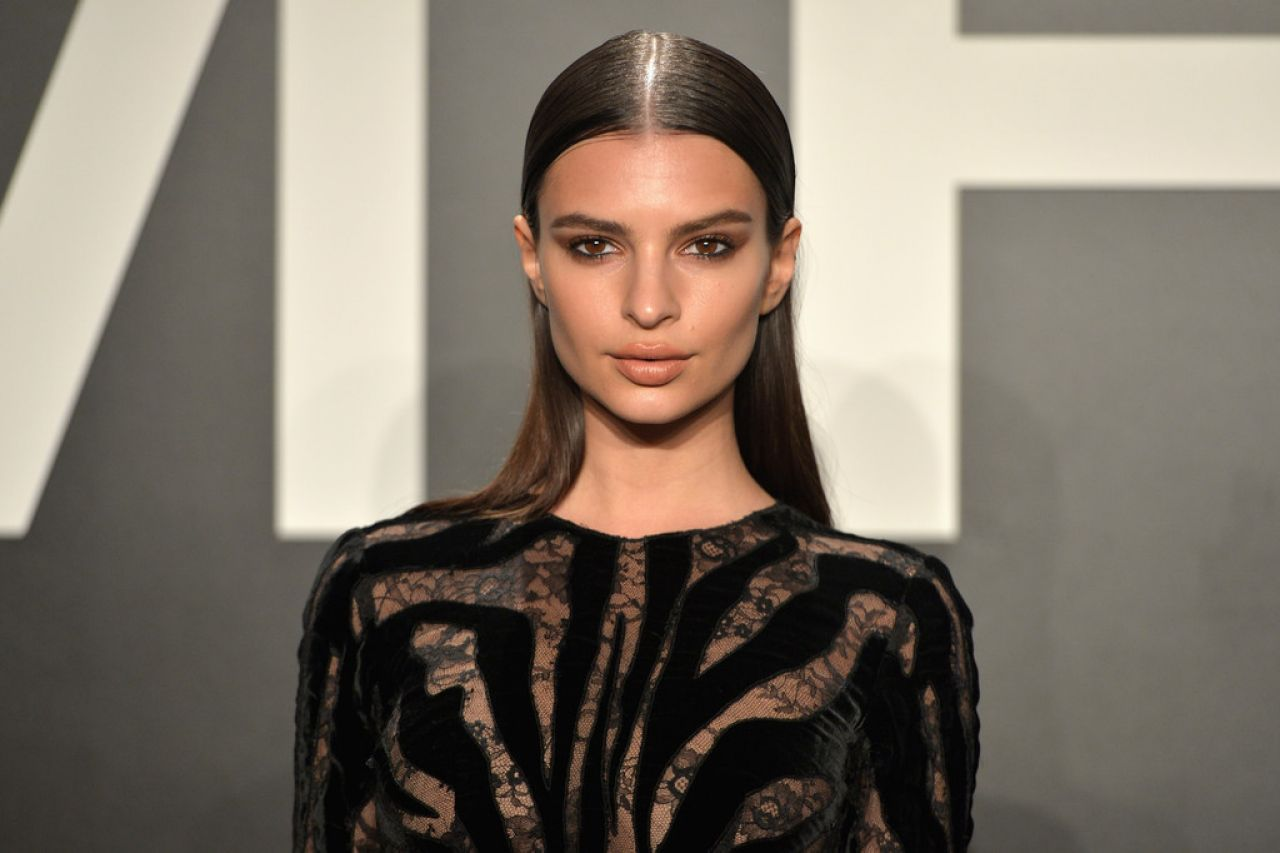 Emily Ratajkowski – Tom Ford Autumn/Winter 2015 Womenswear Collection Presentation in Los Angeles