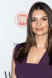 Emily Ratajkowski – Vanity Fair and FIAT Celebration of Young Hollywood in Los Angeles, Feb. 2015