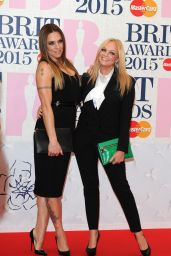 Emma Bunton & Melanie Chisholm - 2015 BRIT Awards in London