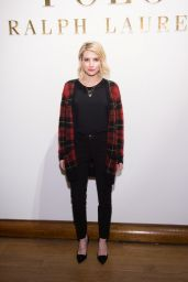 Emma Roberts - Ralph Lauren Polo Mens and Womens Presentation in New York City, Feb. 2015