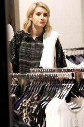 Emma Roberts - Shopping at the Grove in Los Angeles, Feb. 2015