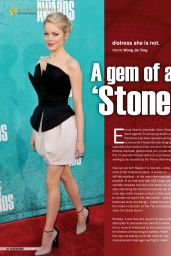 Emma Stone - HealthToday Magazine (Malaysia) - February 2015 Issue