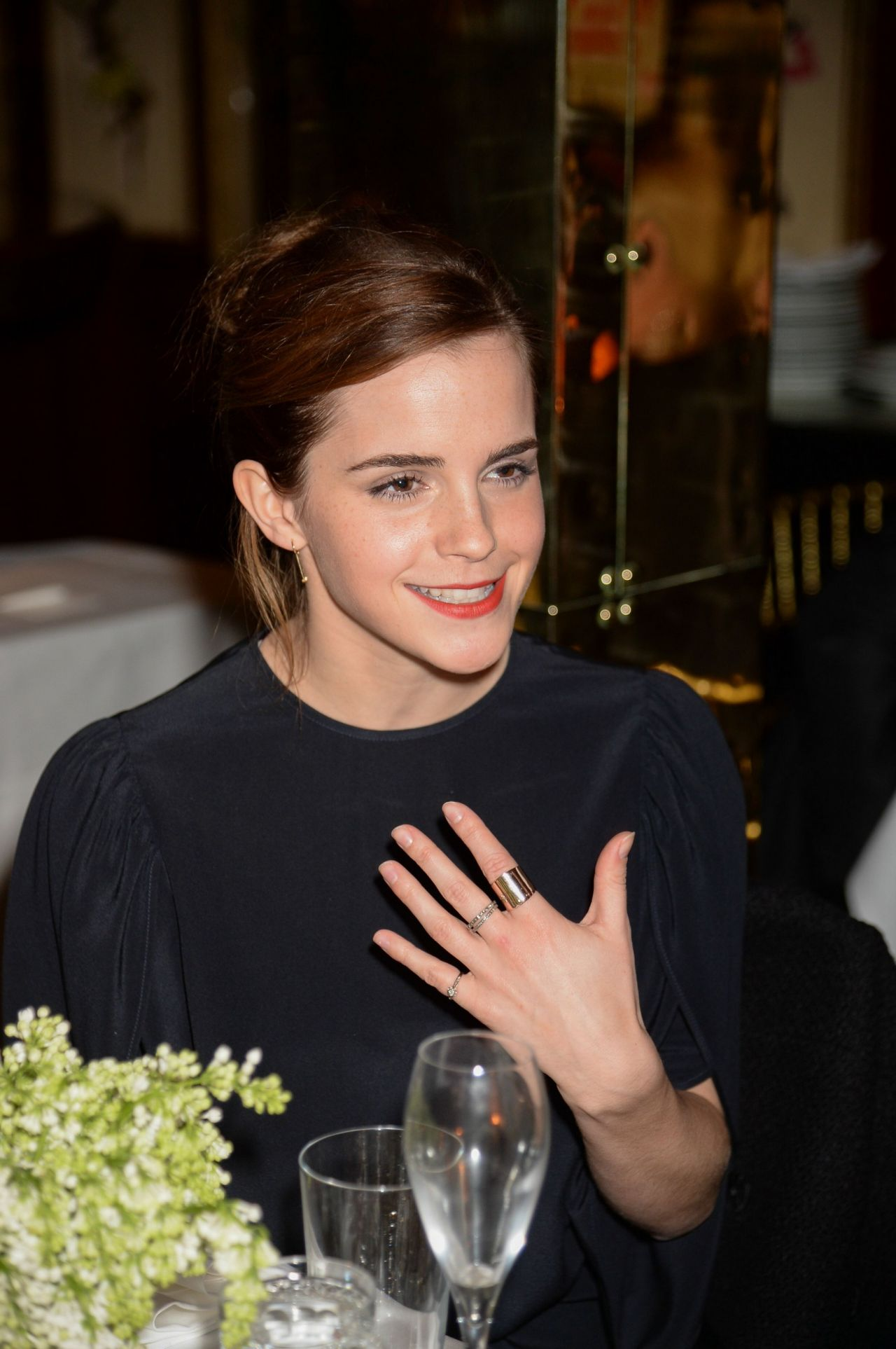Emma Watson - Charles Finch pre-BAFTA 2015 Dinner in London