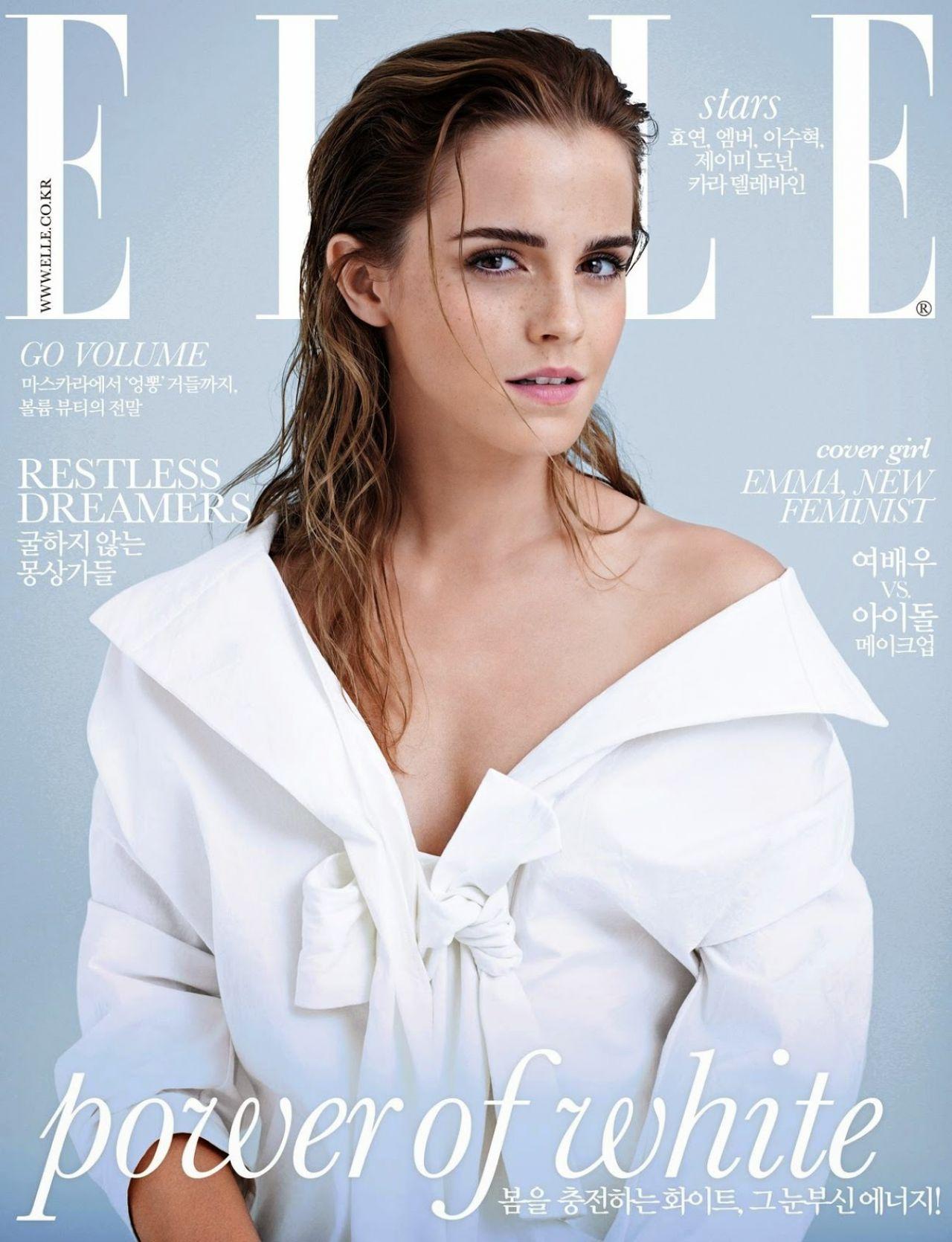 Emma Watson - ELLE Magazine (Korea) March 2015 Cover