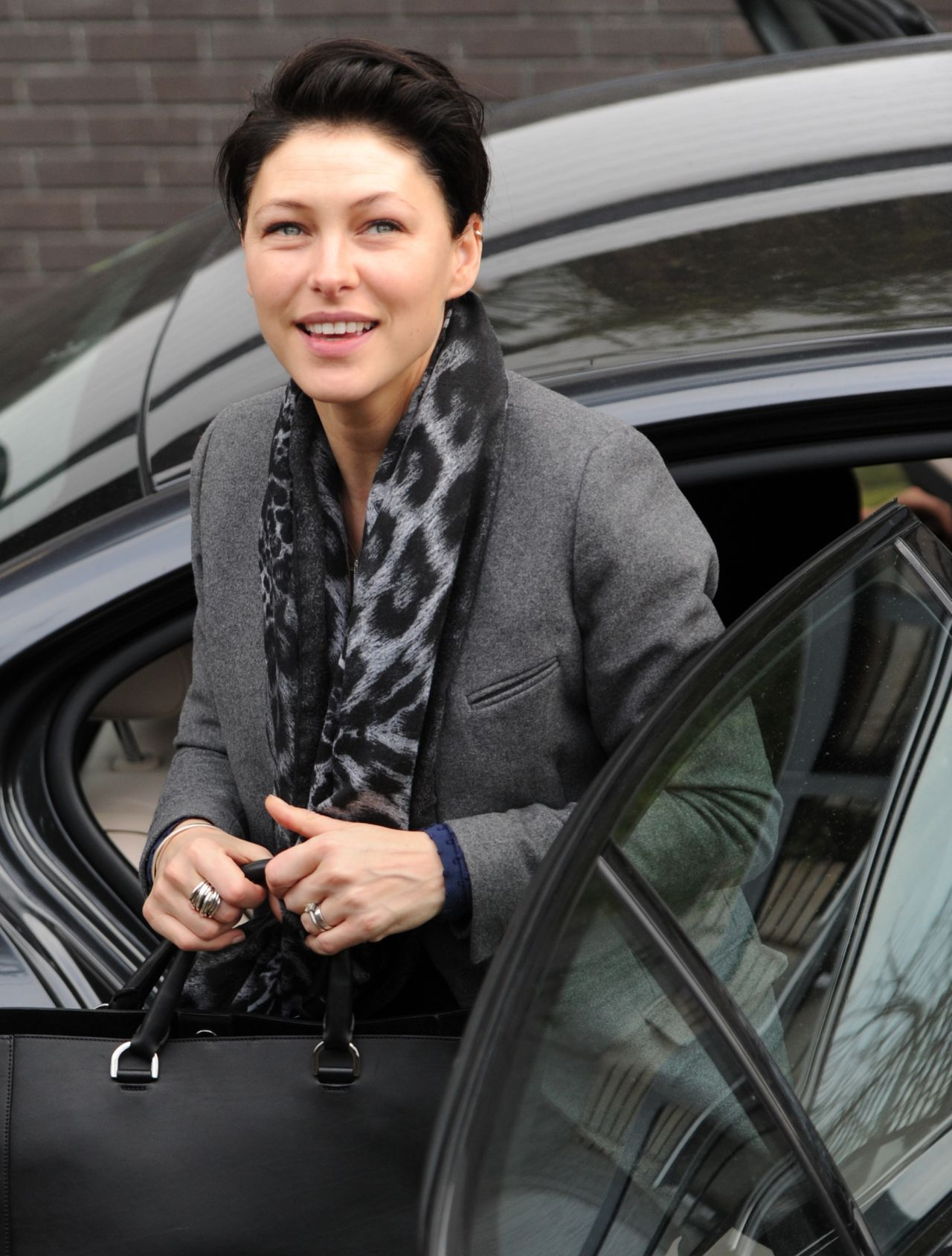 Emma Willis - London Studios, February 2015