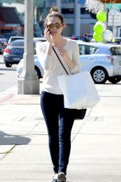 Emmy Rossum Booty in Jeans - Out in West Hollywood, February 2015