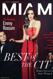 Emmy Rossum - Modern Luxury Miami Magazine - January 2015 Issue