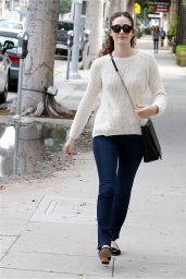 Emmy Rossum - Shopping in Beverly Hills, February 2015