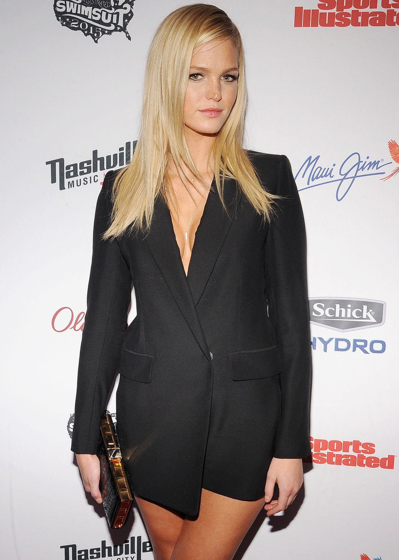 Erin Heatherton – 2015 Sports Illustrated Swimsuit Issue Celebration in New York City