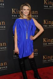 Erin Richards – 'Kingsman: The Secret Service' Premiere in New York