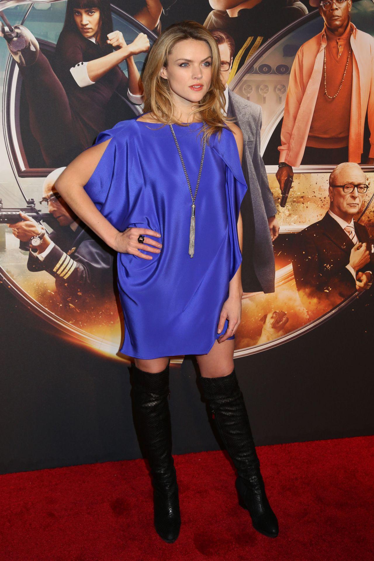 Erin Richards Kingsman The Secret Service Premiere In