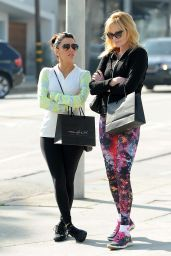 Eva Longoria & Melanie Griffith Shopping in Beverly Hills, February 2015