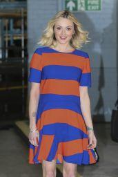 Fearne Cotton - Leaving the ITV Studios in London, Feb. 2015