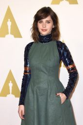 Felicity Jones - 2015 Academy Awards Nominee Luncheon in Beverly Hills