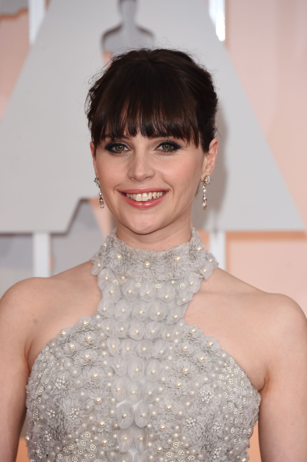 Felicity Jones – 2015 Oscars Red Carpet in Hollywood