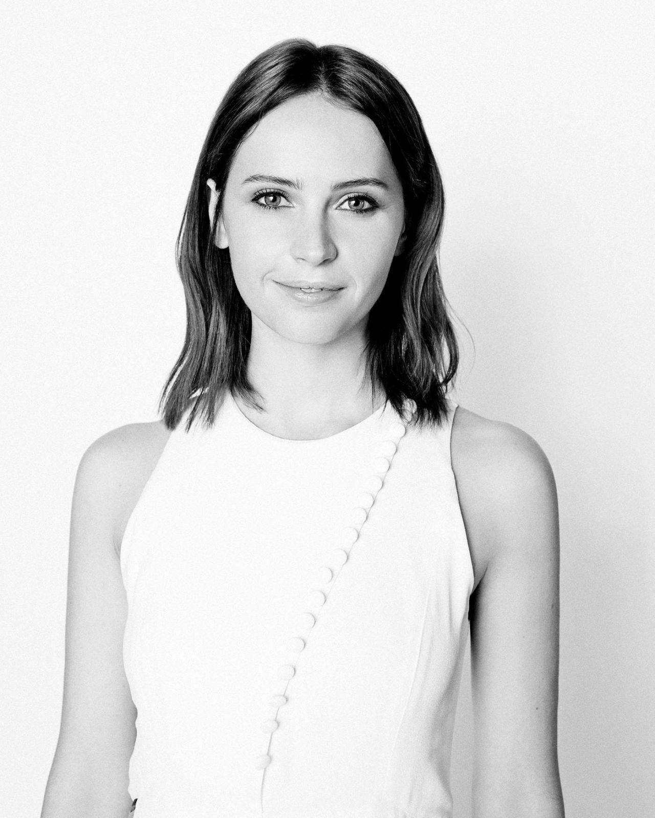 Felicity Jones – Yahoo! Style Photoshoot, January 2015