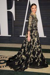 Georgina Chapman - 2015 Vanity Fair Oscar Party in Hollywood