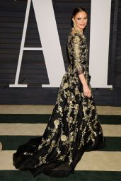 Georgina Chapman - 2015 Vanity Fair Oscar Party in Hollywood