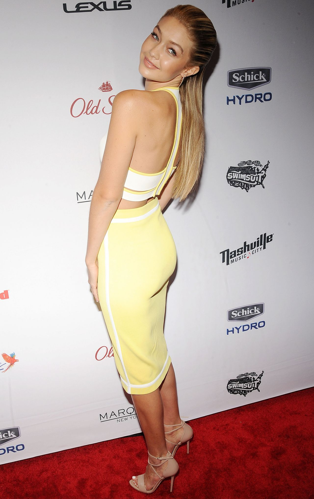 Gigi Hadid – 2015 Sports Illustrated Swimsuit Issue Celebration in ...