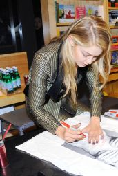Gigi Hadid - LOVE Magazine Signing Held at Bookmarc in New York City, Feb. 2015