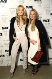 Gigi Hadid - Made x Maybelline NY Tip-Off Party in New YOrk City, Feb. 2015