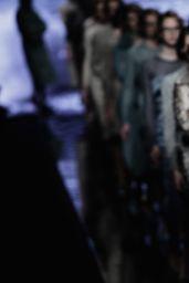 Gigi Hadid - Max Mara Fashion Show in Milan, Feb. 2015