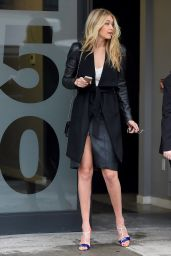 Gigi Hadid Style - Out in New York City, February 2015