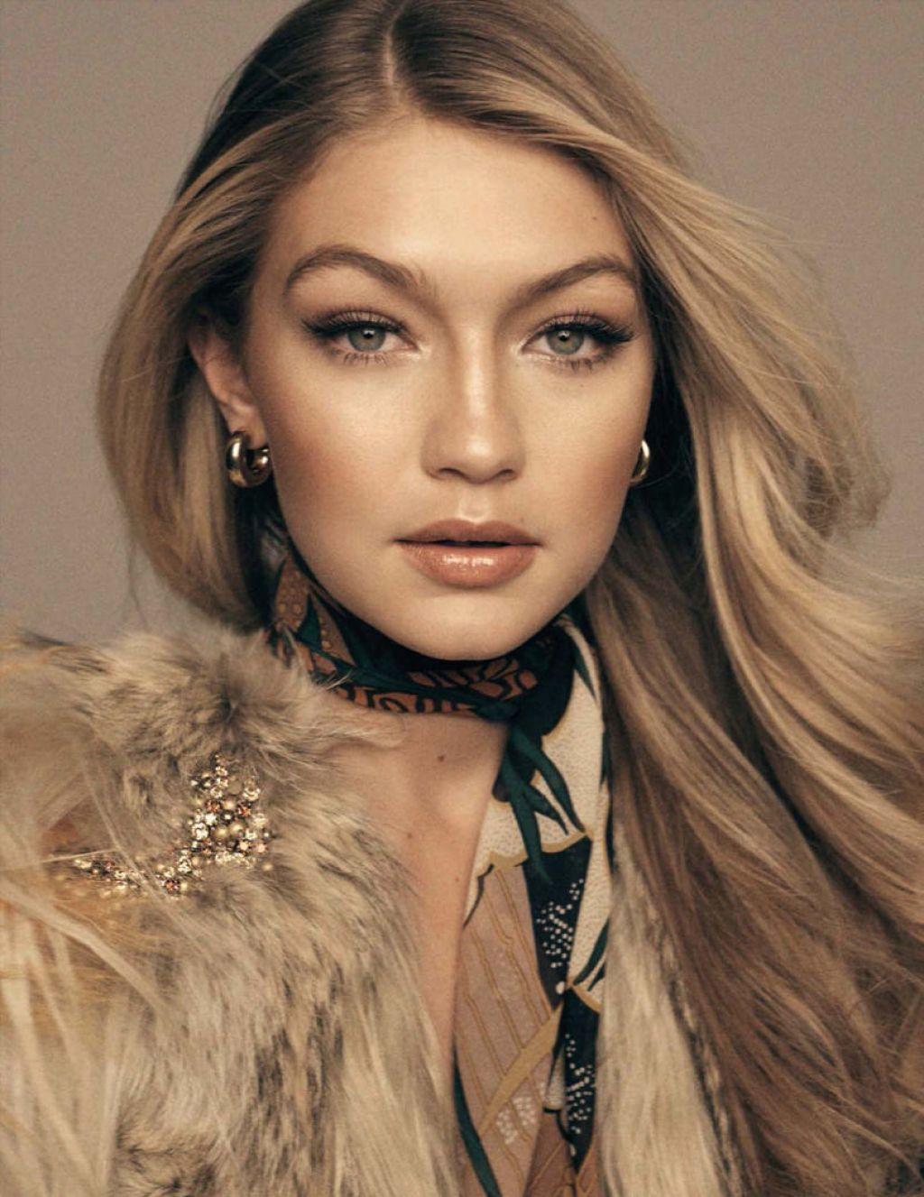 Gigi Hadid Vogue Magazine Spain March 2015 Issue