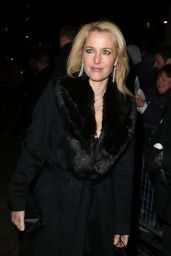 Gillian Anderson - Charles Finch & CHANEL Pre-BAFTA 2015 in London